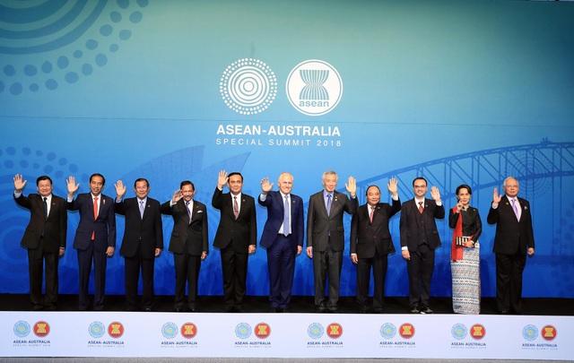 Các nhà lãnh đạo ASEAN và Australia thống nhất ra Tuyên bố Sydney ngày 18/3