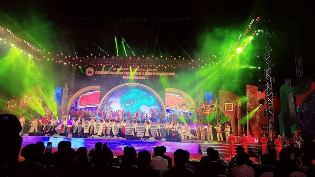 Chương trình nghệ thuật hoành tráng với sự tham gia của 500 diễn viên