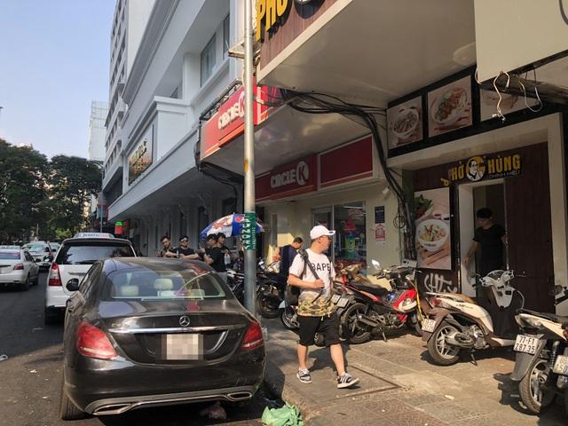 Đoạn đường nơi người mẫu Phan Như Thảo tố cáo bị nhóm người lạ dàn cảnh và có dấu hiệu bắt cóc con gái mình