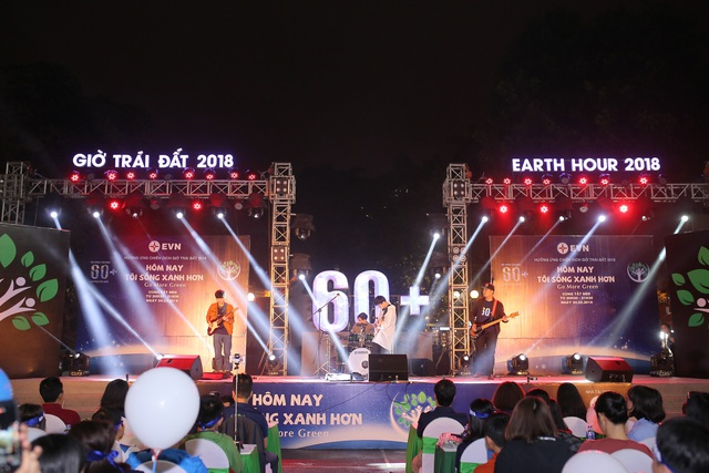 Đêm nhạc hưởng ứng giờ trái đất 2018 cùng EVN - 2
