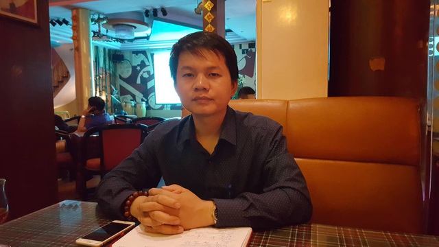 Anh Nguyễn Trung Dũng chia sẻ với phóng viên về công việc tổ chức đám cưới.