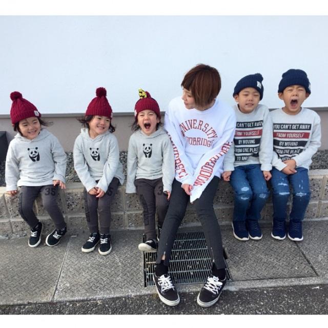 Bộ ảnh dễ thương của bà mẹ 5 con hot nhất Nhật Bản - 2