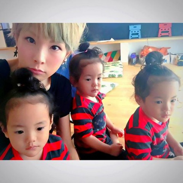 Bộ ảnh dễ thương của bà mẹ 5 con hot nhất Nhật Bản - 12