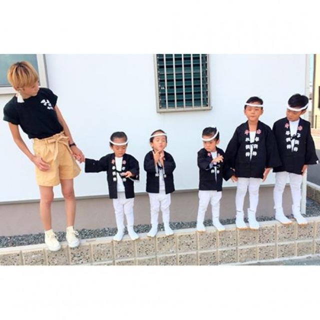 Bộ ảnh dễ thương của bà mẹ 5 con hot nhất Nhật Bản - 15
