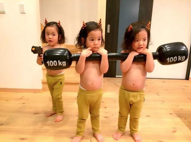 Bộ ảnh dễ thương của bà mẹ 5 con hot nhất Nhật Bản - 16