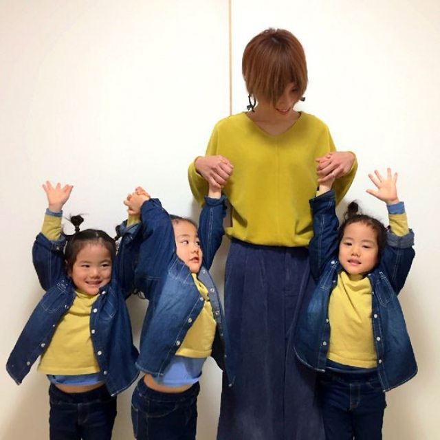Bộ ảnh dễ thương của bà mẹ 5 con hot nhất Nhật Bản - 18