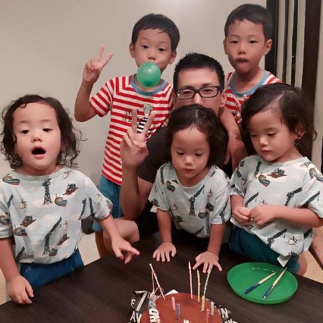 Bộ ảnh dễ thương của bà mẹ 5 con hot nhất Nhật Bản - 20