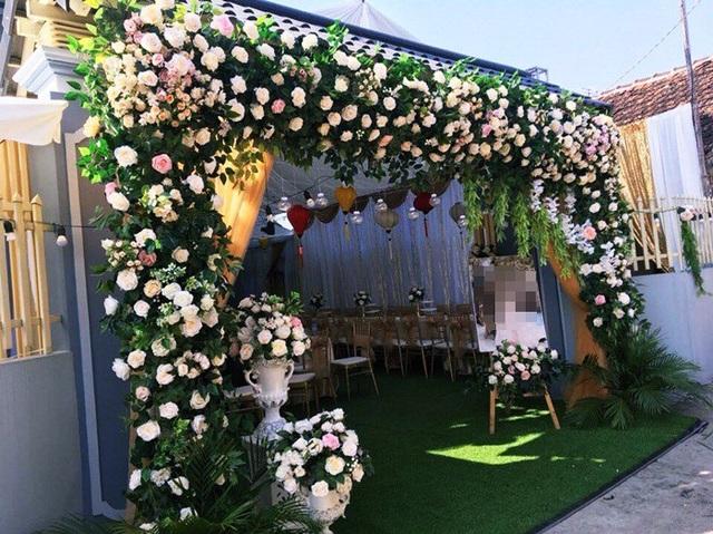 Một không gian tiệc cưới khác. (Ảnh nhân vật cung cấp).