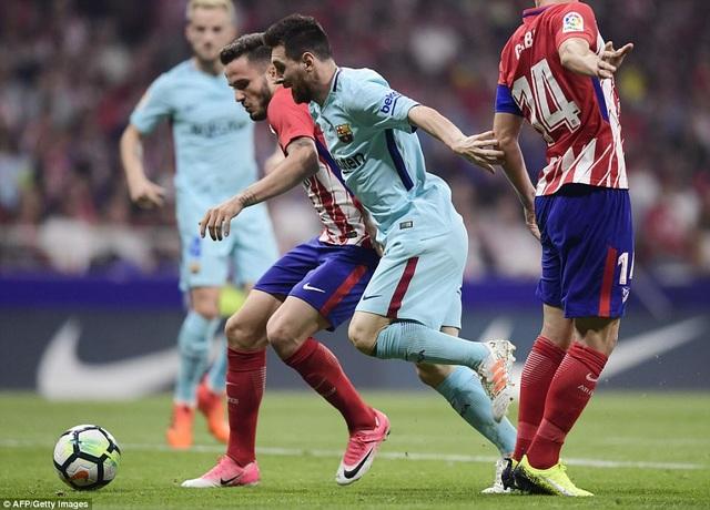 Messi vẫn là ngôi sao đáng chú ý nhất bên phía Barcelona đêm nay