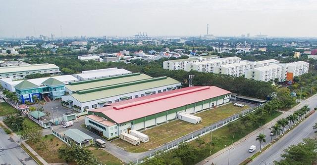 Một khu công nghiệp trên địa bàn tỉnh Hưng Yên