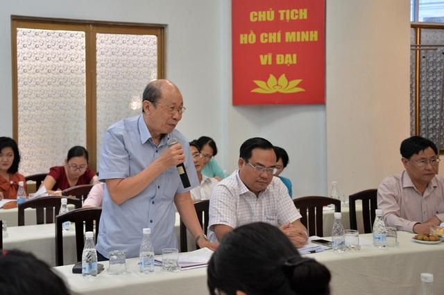 Nguyên Giám đốc Sở Nội vụ TPHCM Châu Minh Tỷ cho rằng phải có tiêu chí đánh giá cán bộ hợp lý để tăng thu nhập xứng đáng
