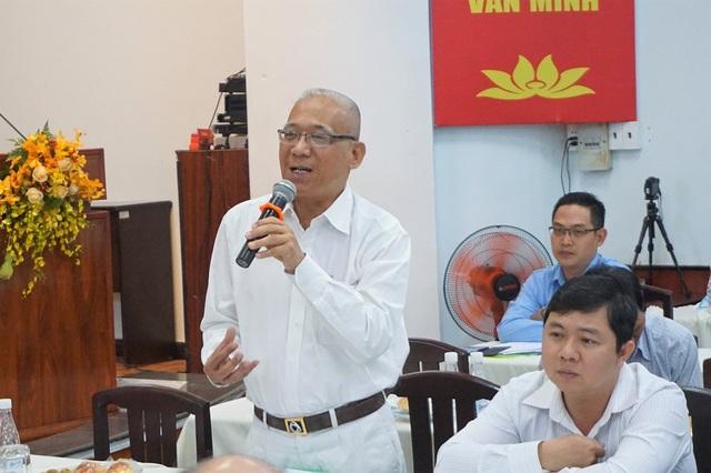Phó Giám đốc Sở Nội vụ TPHCM Đỗ Văn Đạo nhấn mạnh sự công tâm, công bằng của thủ trưởng cơ quan, đơn vị trong đánh giá cán bộ