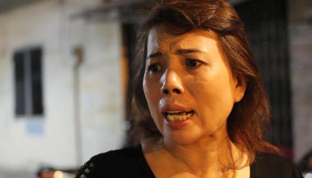 Vụ tai nạn khiến nhân chứng là bà Trương Thị Kim Yến bàng hoàng kinh hãi.