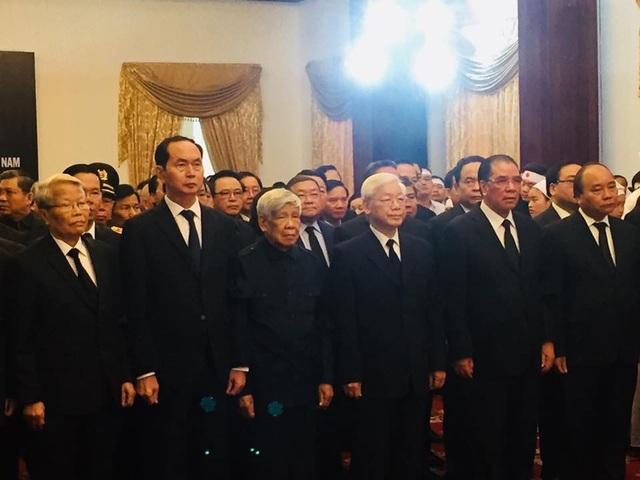 Lễ viếng nguyên Thủ tướng Phan Văn Khải - 1