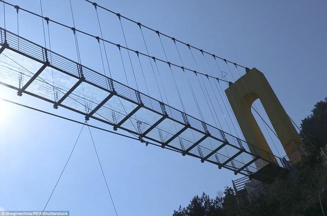 Cây cầu hiện đang giữ kỷ lục cao nhất thế giới với chiều cao vượt qua một tòa nhà 65 tầng