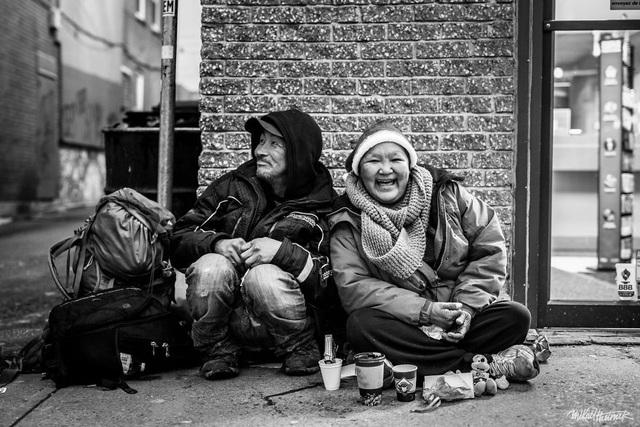Tình yêu của hai người vô gia cư.