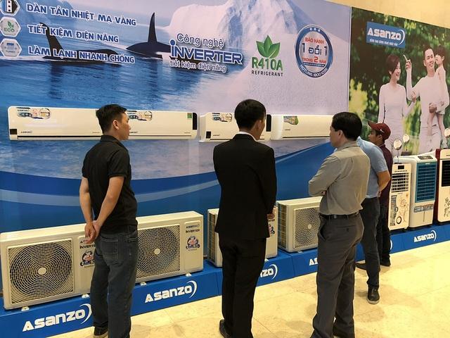 Máy lạnh mới của Asanzo