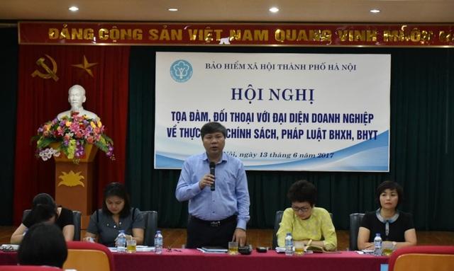 Hà Nội: Phấn đấu giảm tỉ lệ nợ BHXH xuống dưới 3,5 % trong năm 2018 - 1