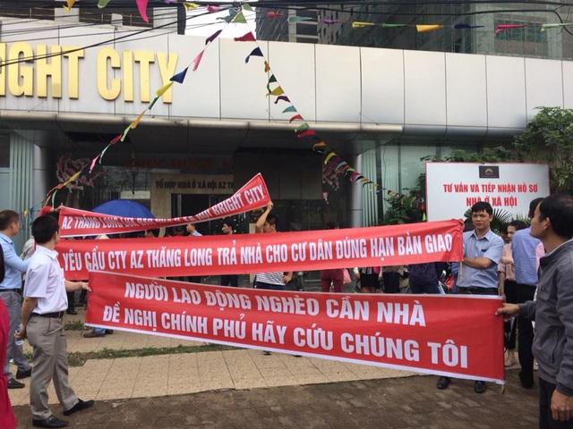 Khách hàng mua nhà tại dự án Bright City tiếp tục phải xuống đường sau khi chủ đầu tư đột ngột tuyên bố muốn thanh lý hợp đồng.