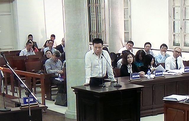 Cựu Chủ tịch HĐQT Occeanbank Hà Văn Thắm đối chất lời khai.