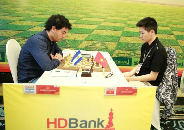 Đấu với đương kim vô địch HDBank Master 2018