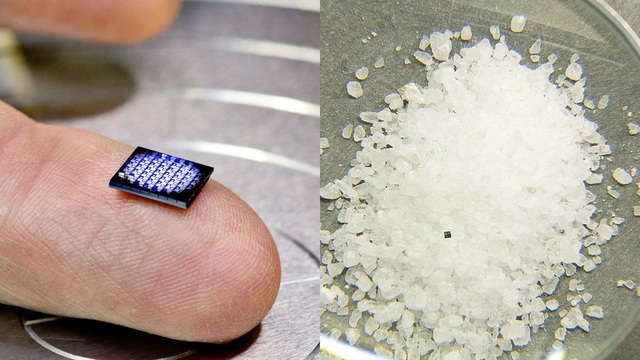 Trong tương lai, IBM dự kiến sẽ tạo ra các cỗ máy chỉ có kích thước nhỏ bằng hạt muối.