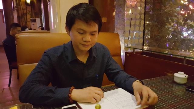 Anh Nguyễn Trung Dũng cho biết để các đám cưới VIP được diễn ra thuận lợi, suôn sẻ bắt buộc phải có kịch bản cẩn thận, hoàn hảo. Ảnh: Nhật Linh