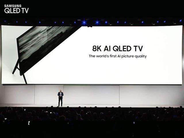 Samsung sử dụng trí tuệ nhân tạo cho TV 8K - 1
