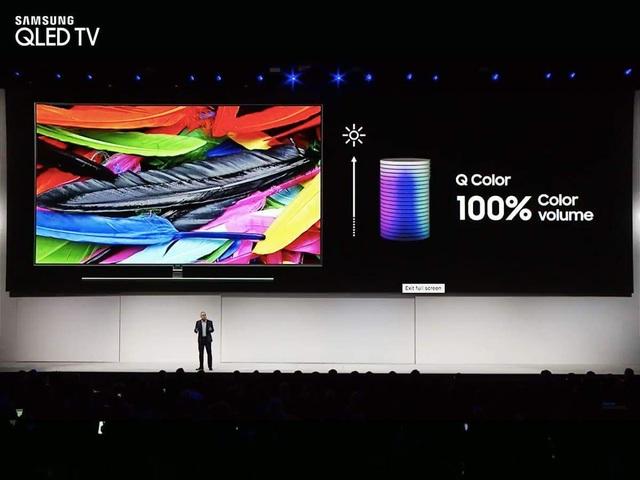 Có thể nói, QLED 2018 đang là mẫu TV sở hữu chất lượng hình ảnh hàng đầu trên thị trường hiện nay.