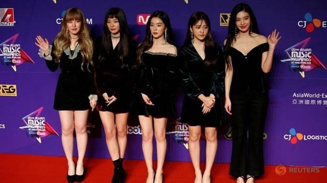 Ban nhạc nữ nổi tiếng Red Velvet (Ảnh: Reuters)