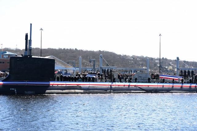Sức mạnh của tàu ngầm hạt nhân 2,7 tỷ USD vừa gia nhập Hải quân Mỹ - 10