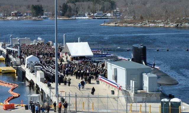 Sức mạnh của tàu ngầm hạt nhân 2,7 tỷ USD vừa gia nhập Hải quân Mỹ - 7