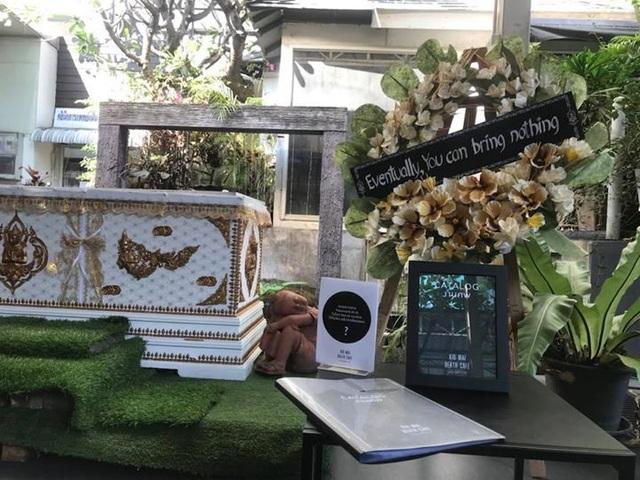 Quán cafe mang chủ đề tang lễ ở Bangkok