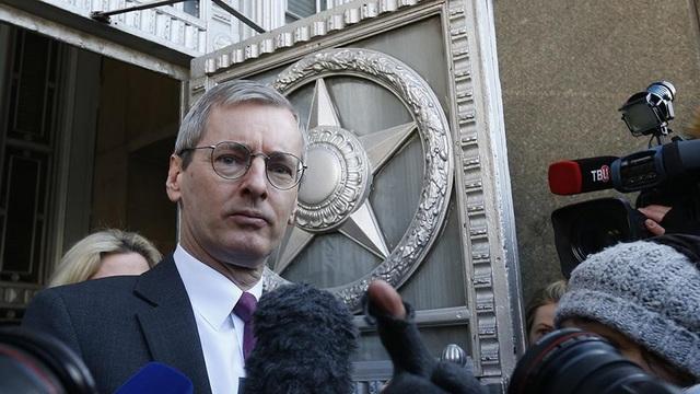 Đại sứ Anh tại Nga Laure Bristow (Ảnh: Reuters)
