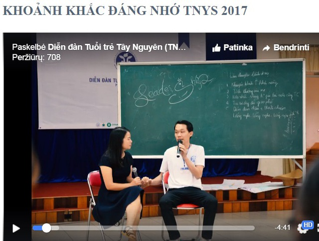 Những khoảnh khắc đáng nhớ trong Diễn đàn tuổi trẻ Tây Nguyên năm 2017 tại Gia Lai được ghi lại