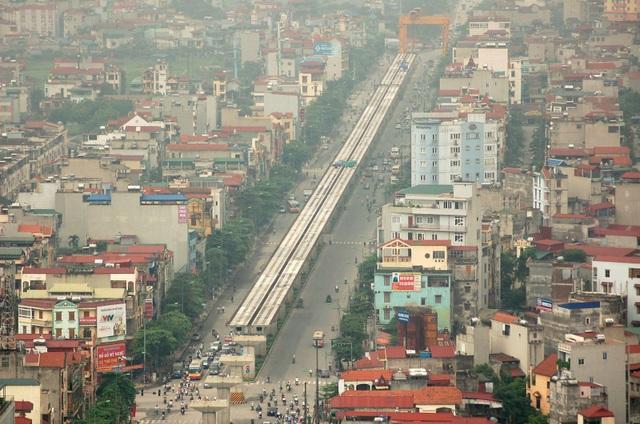 Quy hoạch tuyến tàu điện trên cao Cát Linh – Hà Đông, Nhổn – Ga Hà Nội giúp bất động sản khu vực xung quanh được hưởng lợi