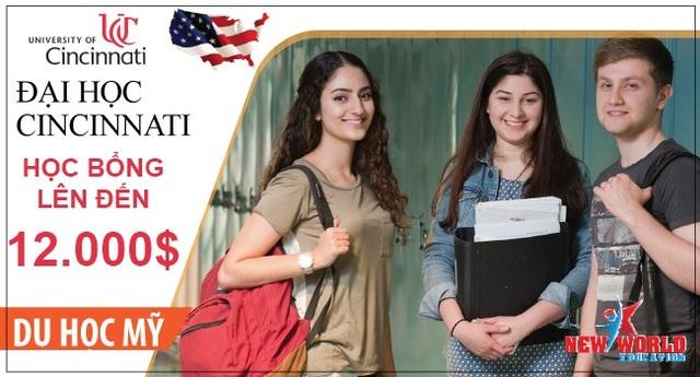 Hội thảo săn Học bổng du học Mỹ 12,000 USD của Trường Đại học Cincinnati - 2