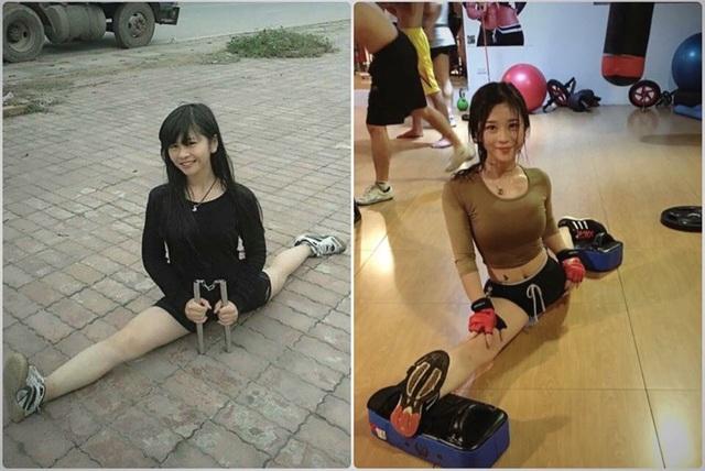 Sự thay đổi vóc dáng khi theo tập võ thuật và gym