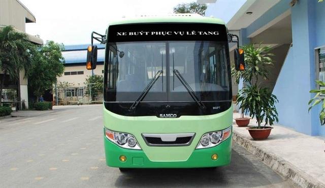 15 chiếc xe buýt sẽ hoạt động liên tục từ 7h30-13h15 ngày 22/3