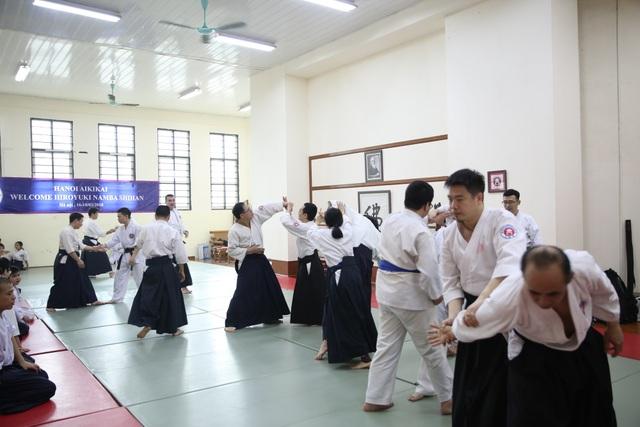 Khoá tập huấn quy tụ các võ sư từ khắp cả nước.