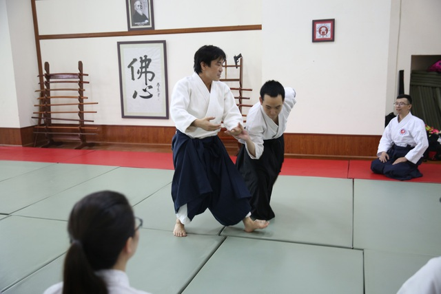 Các kỹ thuật trong Aikido đều nhẹ nhàng, không tạo ra tính đối kháng