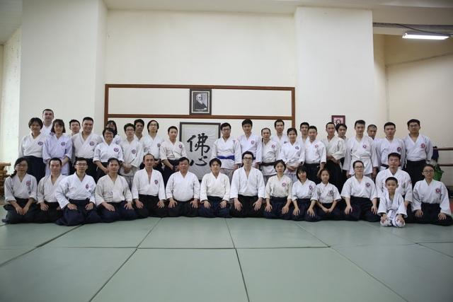 Các thành viên trong Hà Nội Aikikai