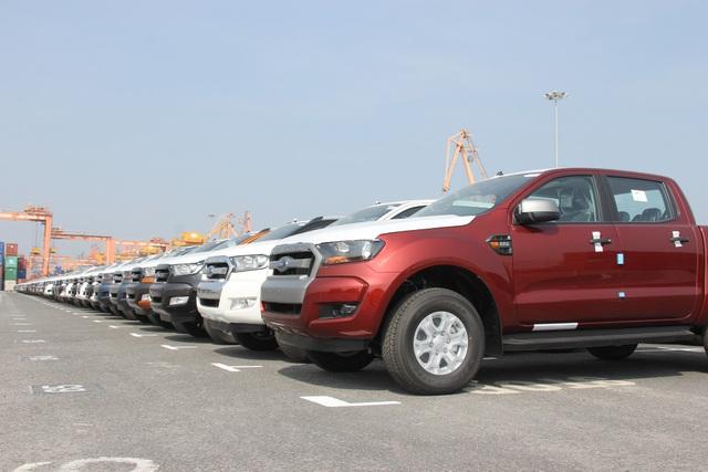 Một loạt doanh nghiệp vừa gửi đơn đề nghị cấp phép nhập khẩu xe ô tô (Ảnh minh họa)
