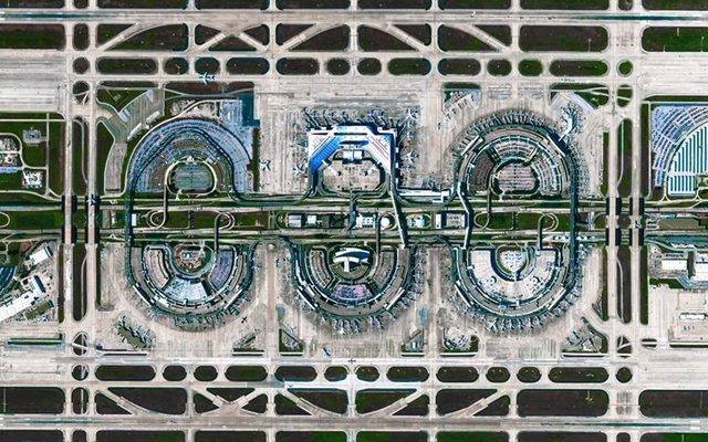 Ngỡ ngàng với những bức ảnh vệ tinh cực kỳ ấn tượng - 2