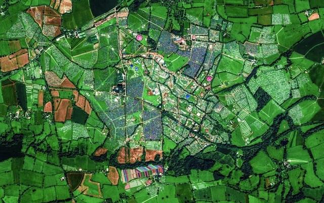 Ngỡ ngàng với những bức ảnh vệ tinh cực kỳ ấn tượng - 13
