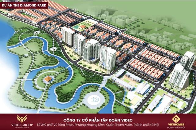 The Diamond Park là 1 trong những dự án nóng nhất tại Mê Linh thời điểm này.