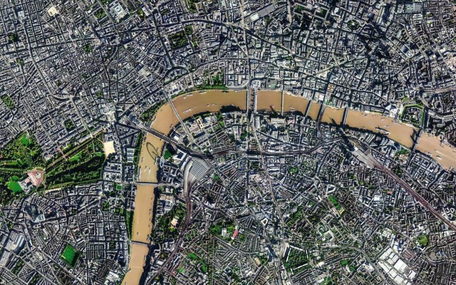 Ngỡ ngàng với những bức ảnh vệ tinh cực kỳ ấn tượng - 5