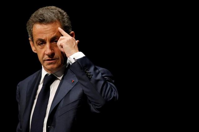 Cựu Tổng thống Pháp Nicolas Sarkozy (Ảnh: Reuters)