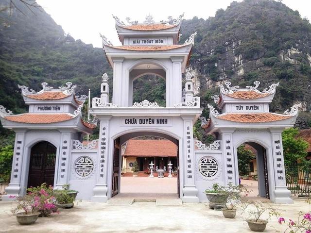 Chùa Duyên Ninh có tuổi đời hơn 1.000 năm, là ngôi chùa cầu duyên nổi tiếng ở Ninh Bình và cả nước.