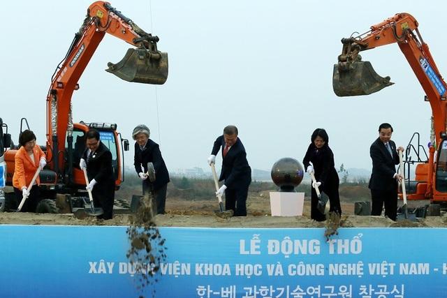 Động thổ xây dựng Viện Khoa học và Công nghệ Việt Nam – Hàn Quốc - 2